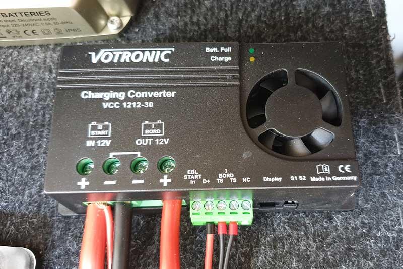 Zweitbatterie Charging Converter