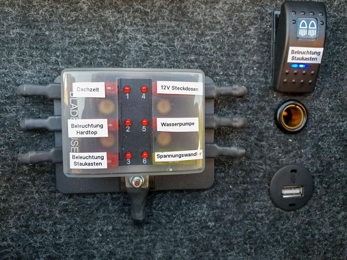 Zusätzliche elektrische Verbraucher
