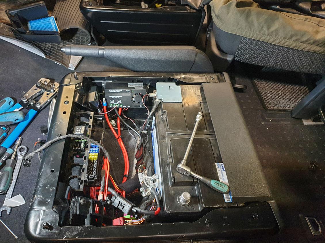 Zweitbatterie einbauen lassen