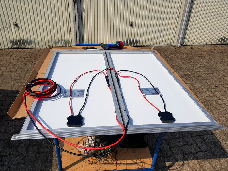 Solarmodule für Camper